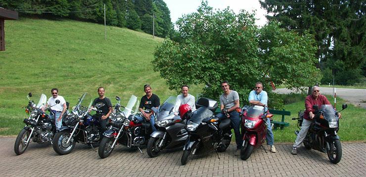 Motorradtour im Schwarzwald